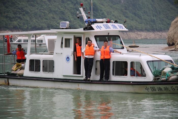 酉阳彭水沿河三县禁渔期联合执法