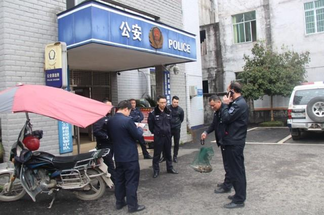 与公安机关配合查处非法捕捞案件