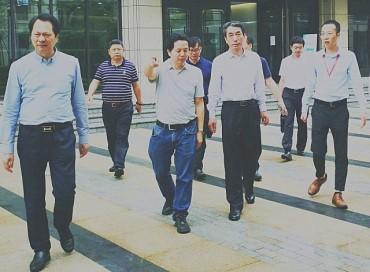 全国水产技术推广总站崔利锋站长调研重庆渔业绿色发展情况
