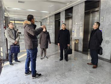 """詹仁明副主任调研市水产""""两中心""""建设情况"""