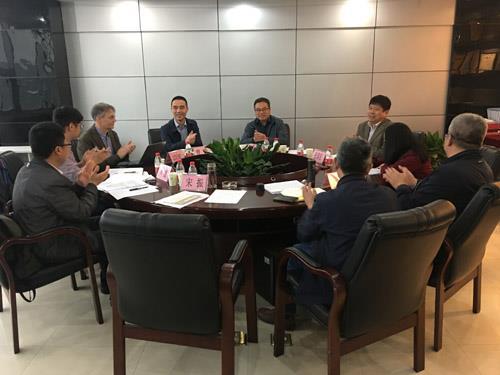 重庆市农业生态与资源保护站座谈现场
