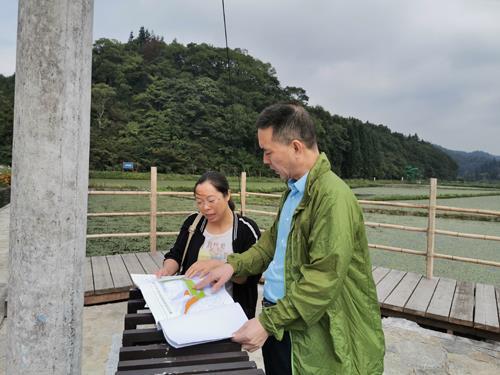 市农业生态站开展农业野生植物原生境保护区情况调研
