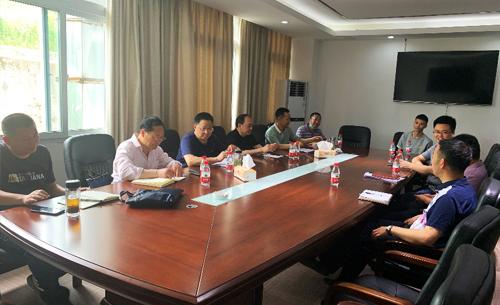市农业农村委调研渝北区果园机械化生产